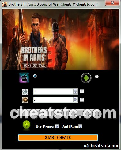 Brothers in Arms 3 Sons of War Cheats