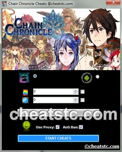 Chain Chronicle Cheats