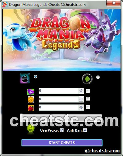 Game Cheats For Dragon Mania Legends