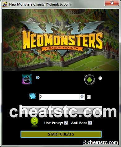 Neo Monsters Reward Code