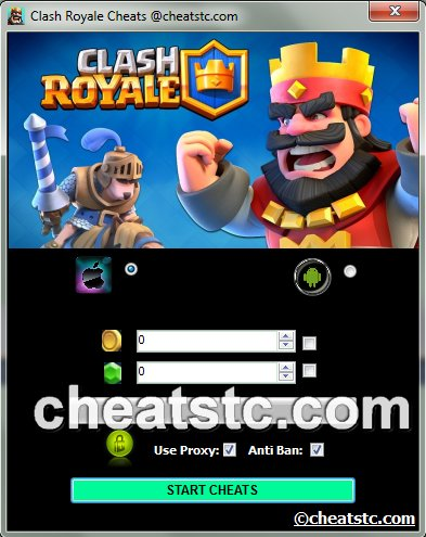 Clash Royale Cheats Tool Features