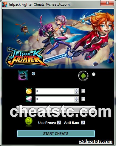 Jetpack Fighter Cheats