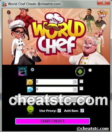 World Chef Cheats