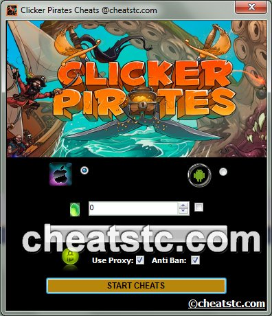 Clicker Pirates Cheats