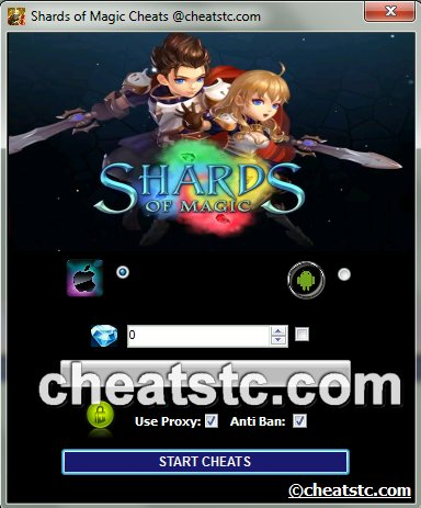 Shards of Magic Cheats