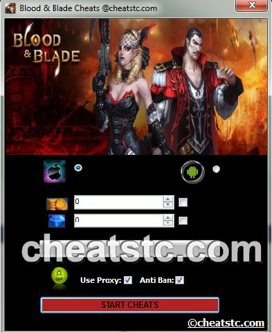 Blood and Blade Cheats