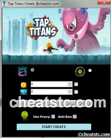 Tap Titans cheats
