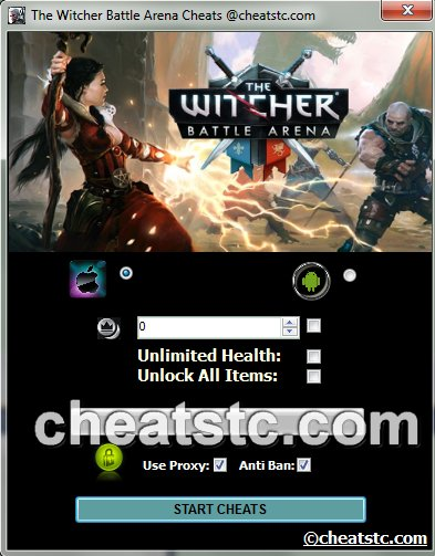 The Witcher Battle Arena Cheats