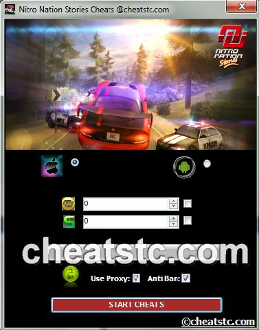 Nitro Nation Stories Cheats