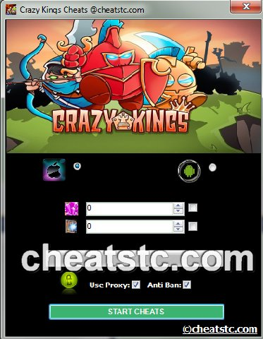 Crazy Kings Cheats
