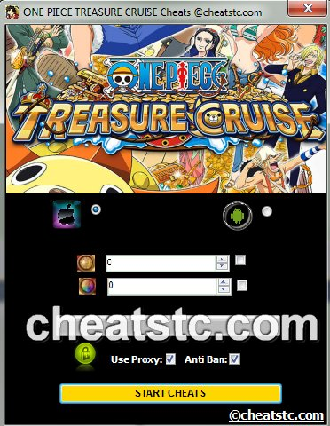 ONE PIECE TREASURE CRUISE Cheats