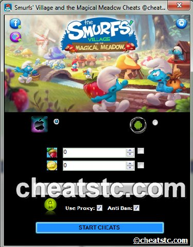 Smurfs' Village and the Magical Meadow Cheats
