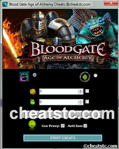 Blood Gate Age of Alchemy Cheats