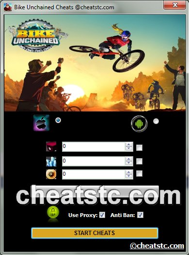 Bike Unchained Cheats
