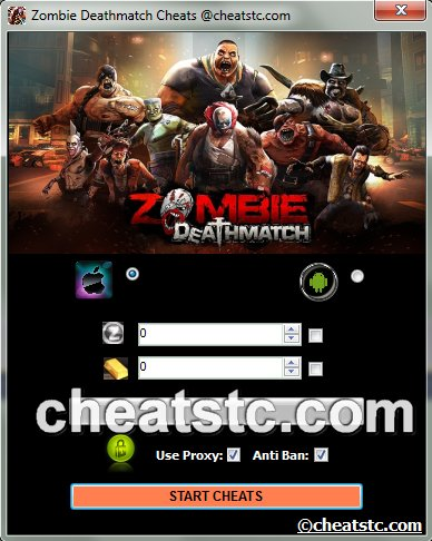 Zombie Deathmatch Cheats
