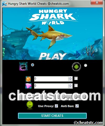 Hungry Shark World Cheats