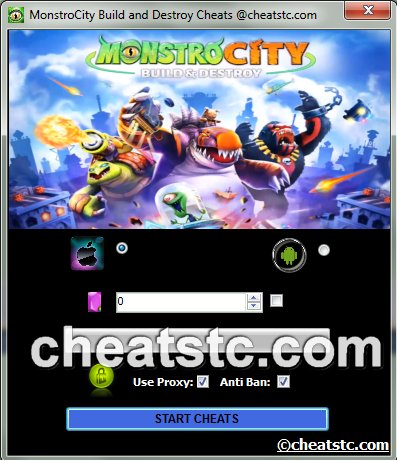 MonstroCity Build and Destroy Cheats